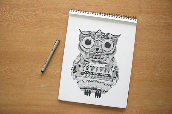 Blog archive passion zentangle - Idees dessin simples ...