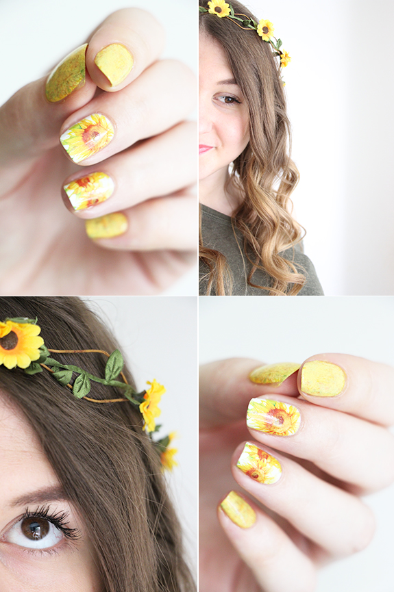 sunflower-nails-2