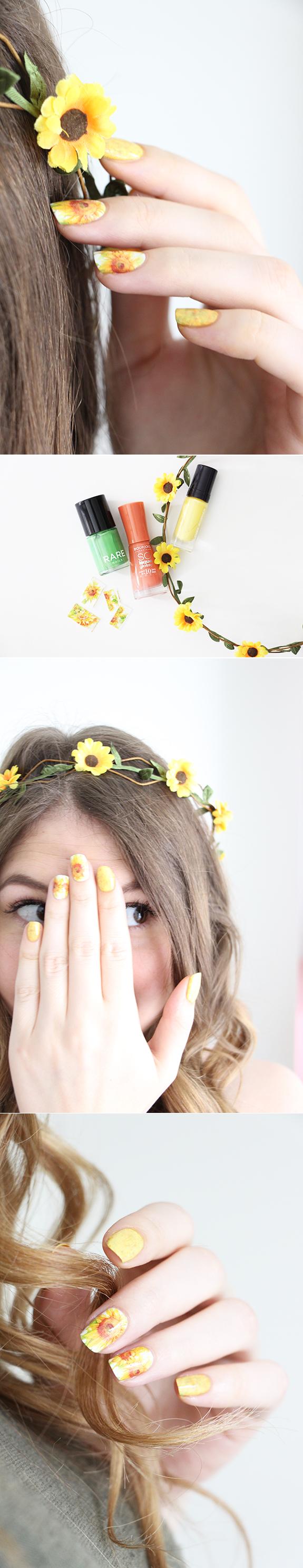 sunflower-nails-3