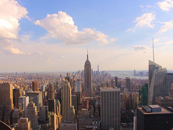 sejour new york juillet 2017