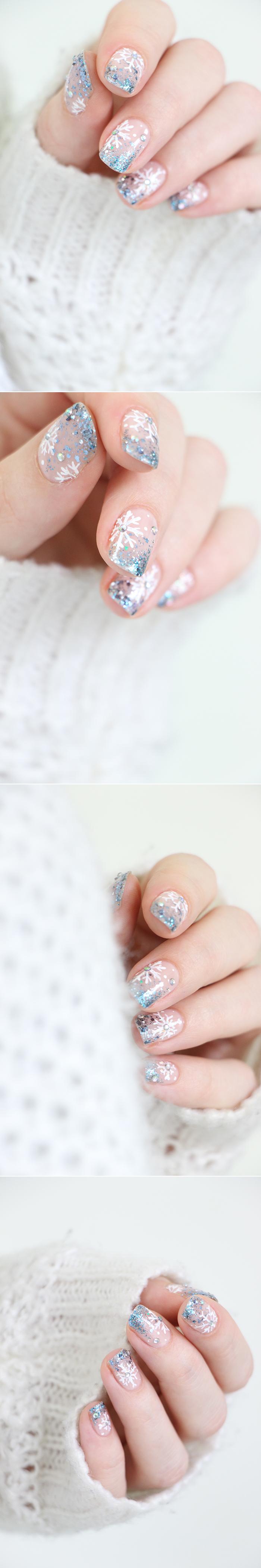 nail-art-flocons-snowflakes-2