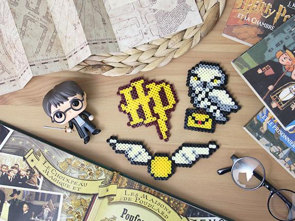 Diy Des Aimants Harry Potter En Perles Hama Je Suis Vernie