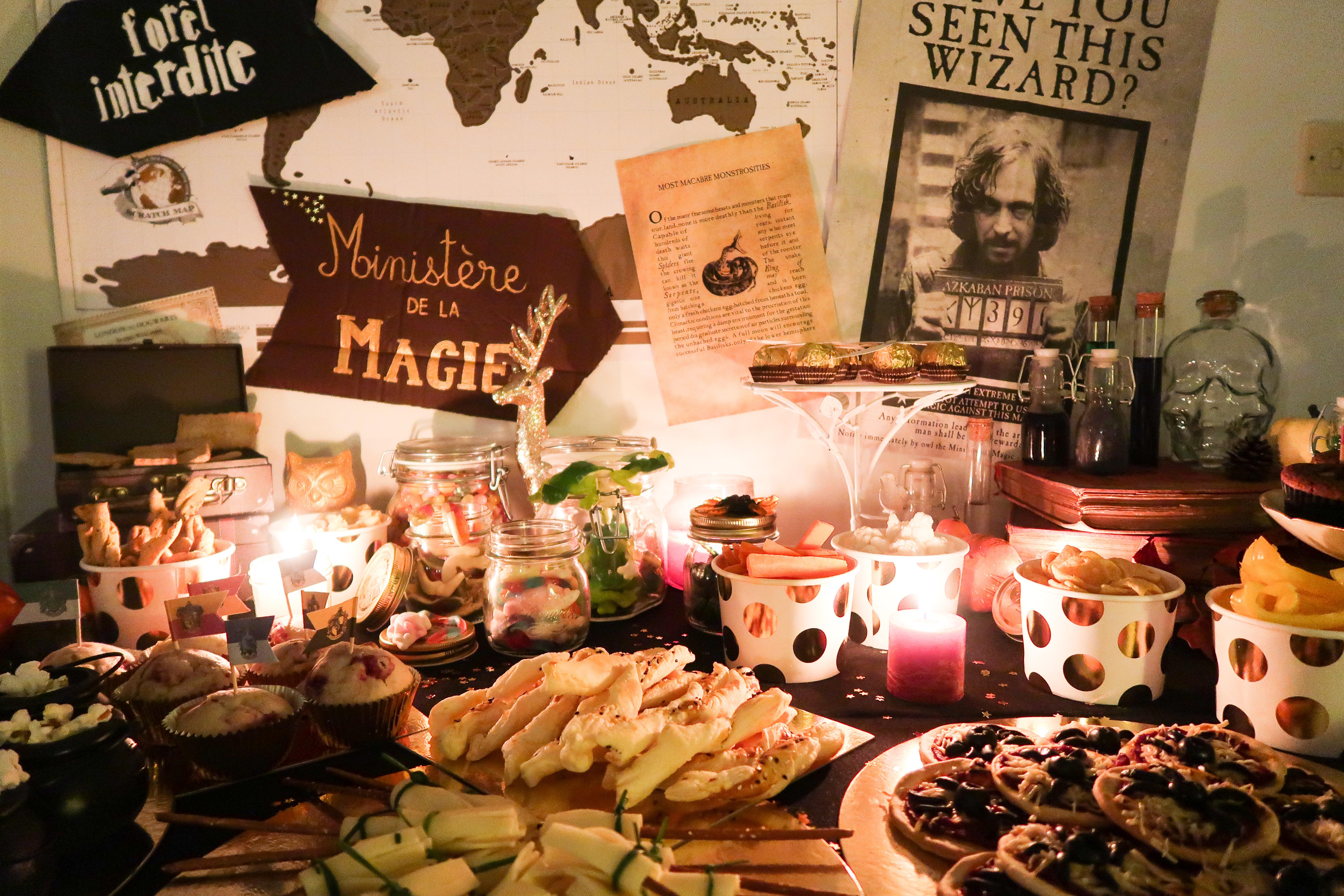 Harry Potter Party 10 Idées Déco Pour Dresser Une Table