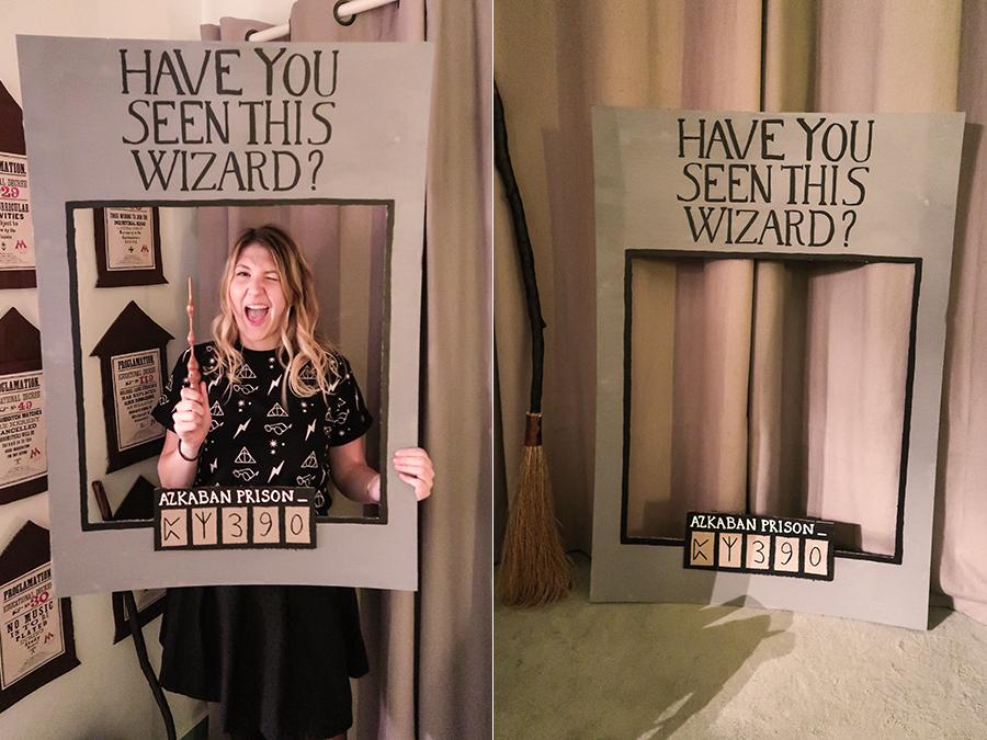 J\u0027ai trouvé cette idée sur Pinterest et je l\u0027ai trouvée absolument géniale   fabriquer un photocall à l\u0027image de l\u0027affiche « Have You Seen This Wizard  ? ».